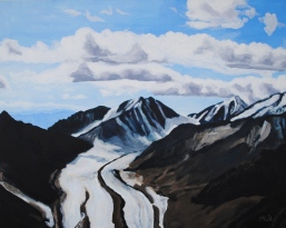 Glaciers Through Denali National Park