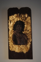 Jim Morrison- Icon Painting