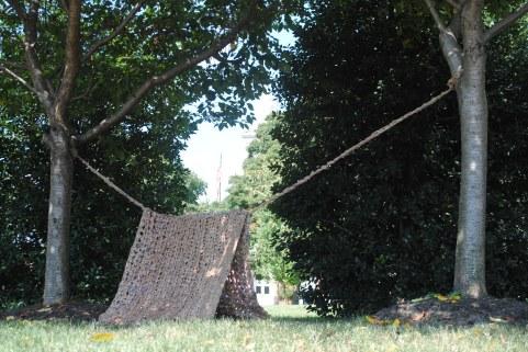#Plarntent Sculpture Yarnbomb
