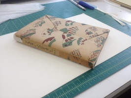 Repaired Paper Cover