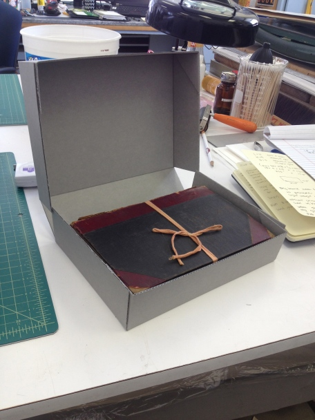 Hand Made Archival Book Box