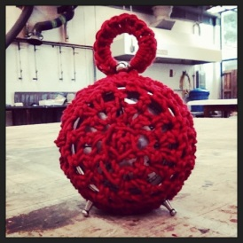 Crochet for a Found Form