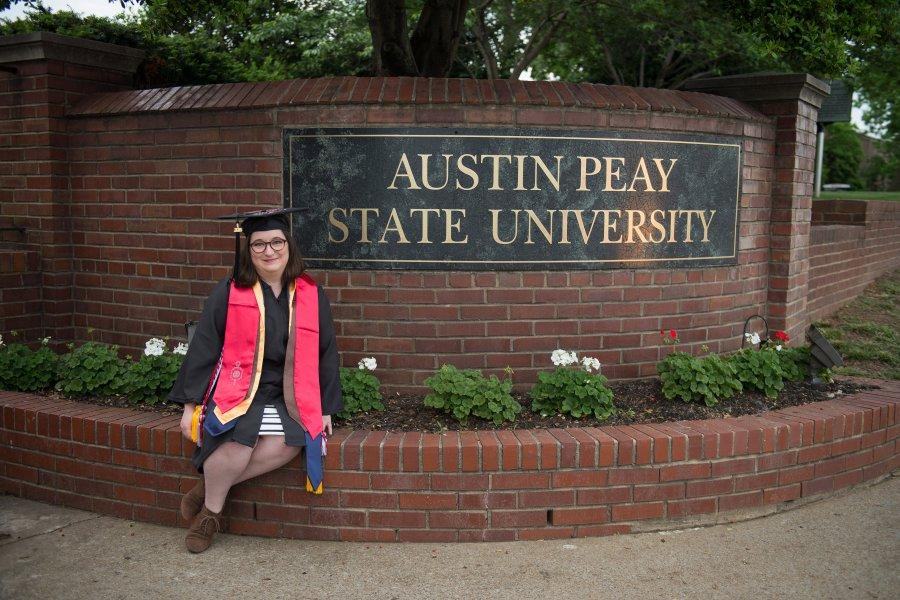Surprise, I graduated!